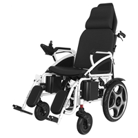 DLY-801 High Back Lying Adjustable Motorized Foldable Wheelchair