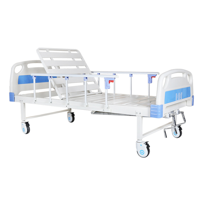 MD-BS2-001 Medical Manual 2 Cranks Hospital Bed